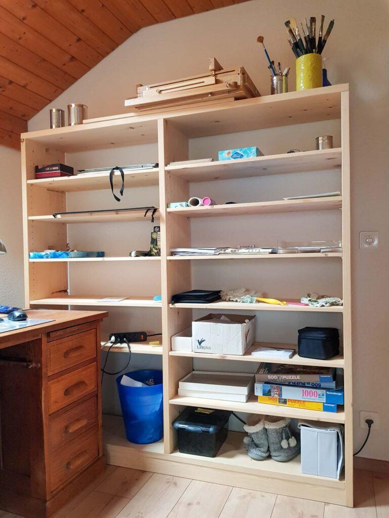 Wooddesign_Büro_Homeoffice_Schreibtisch_höhenverstellbar_Regal__Arbeitszimmer (4)