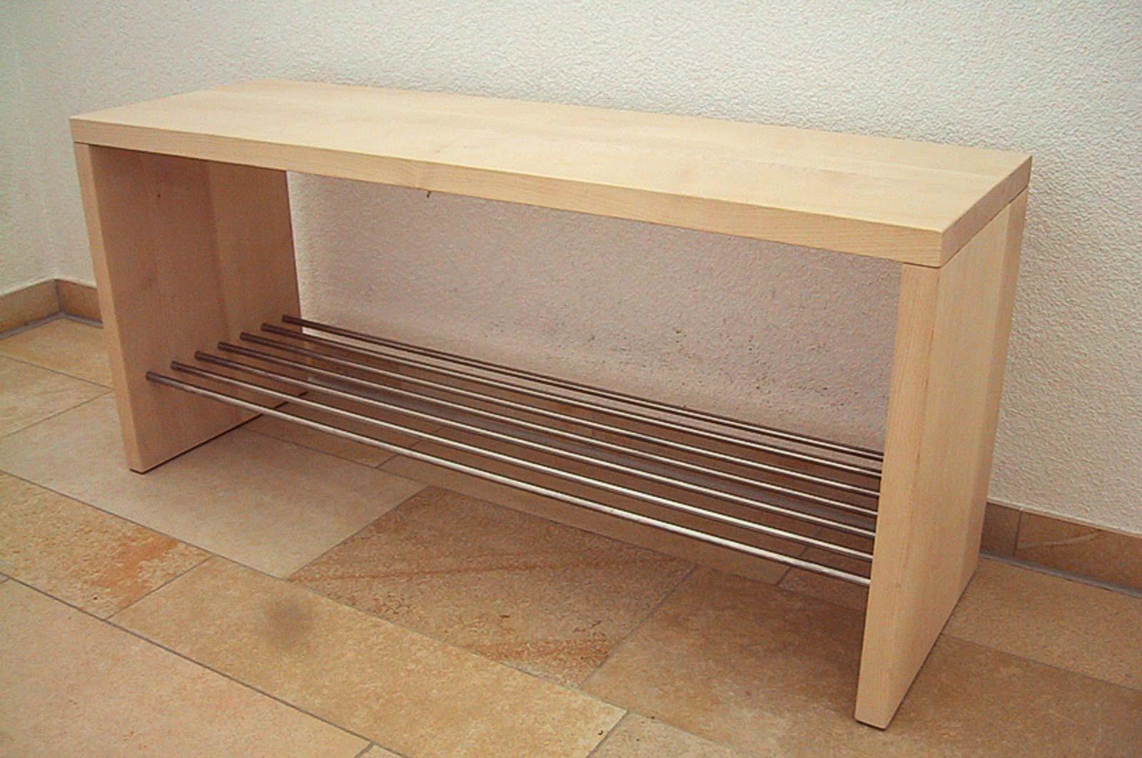 Wooddesign_Garderobe_Gästegarderobe_Sitzbank_Schuablage (2)