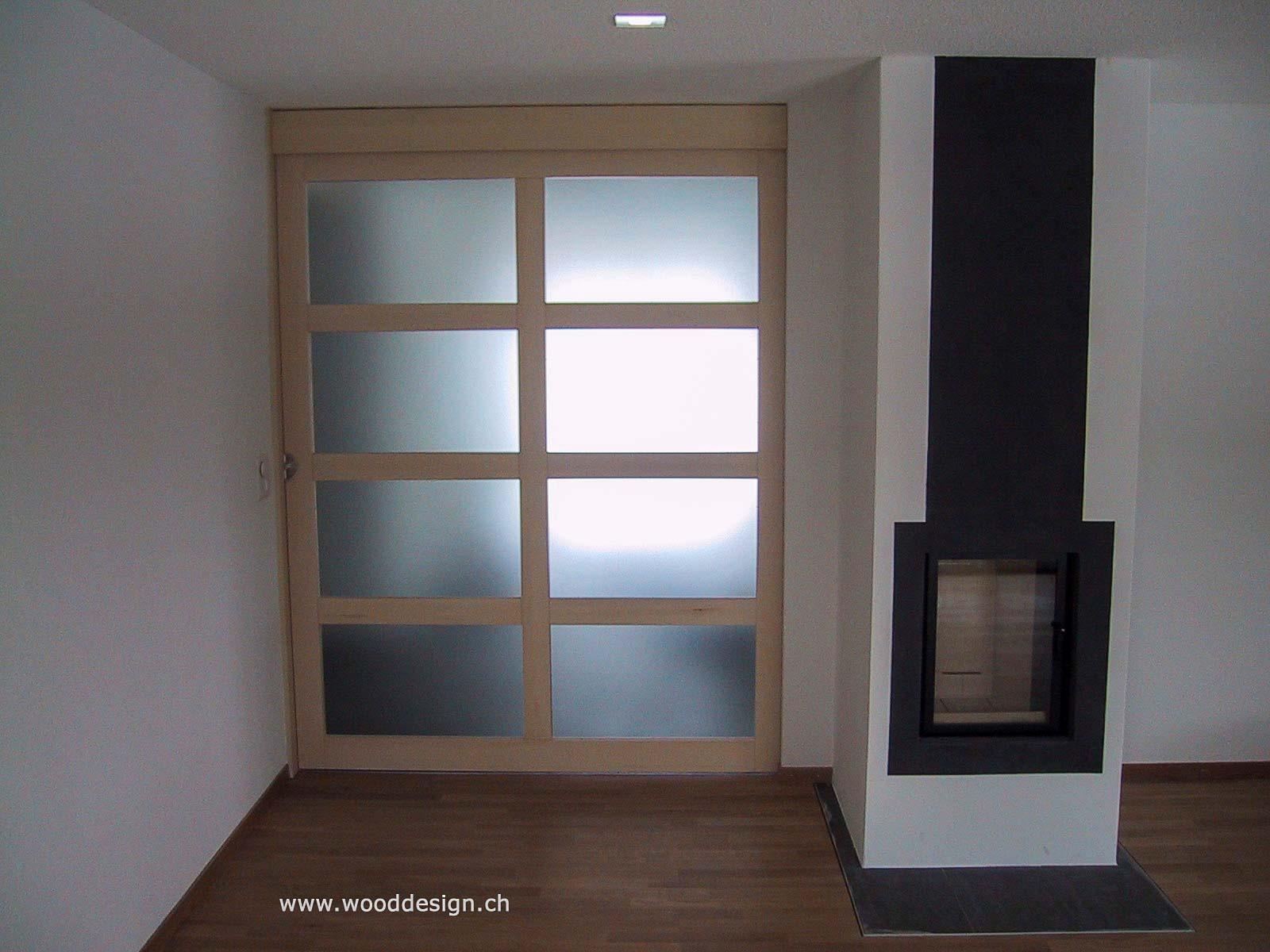 Wooddesign_Raumtrenner_Schiebetüren mit Glasfüllungen_Ahorn_Akustik (1)