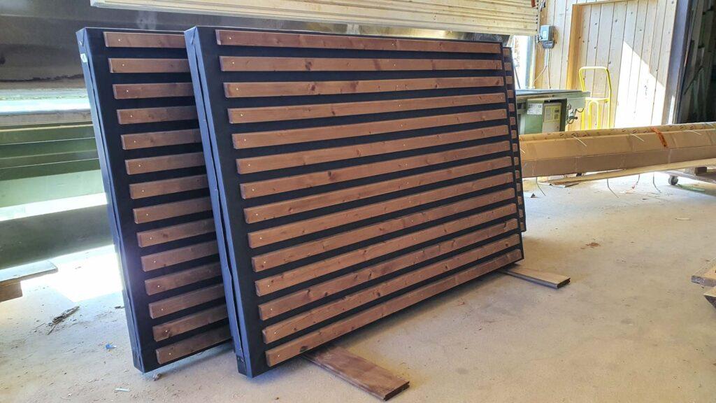 Wooddesign_Terrassengestaltung_Sichtschutz_Schallschutz_Schallschutzwand_druckimprägniert braun (8)
