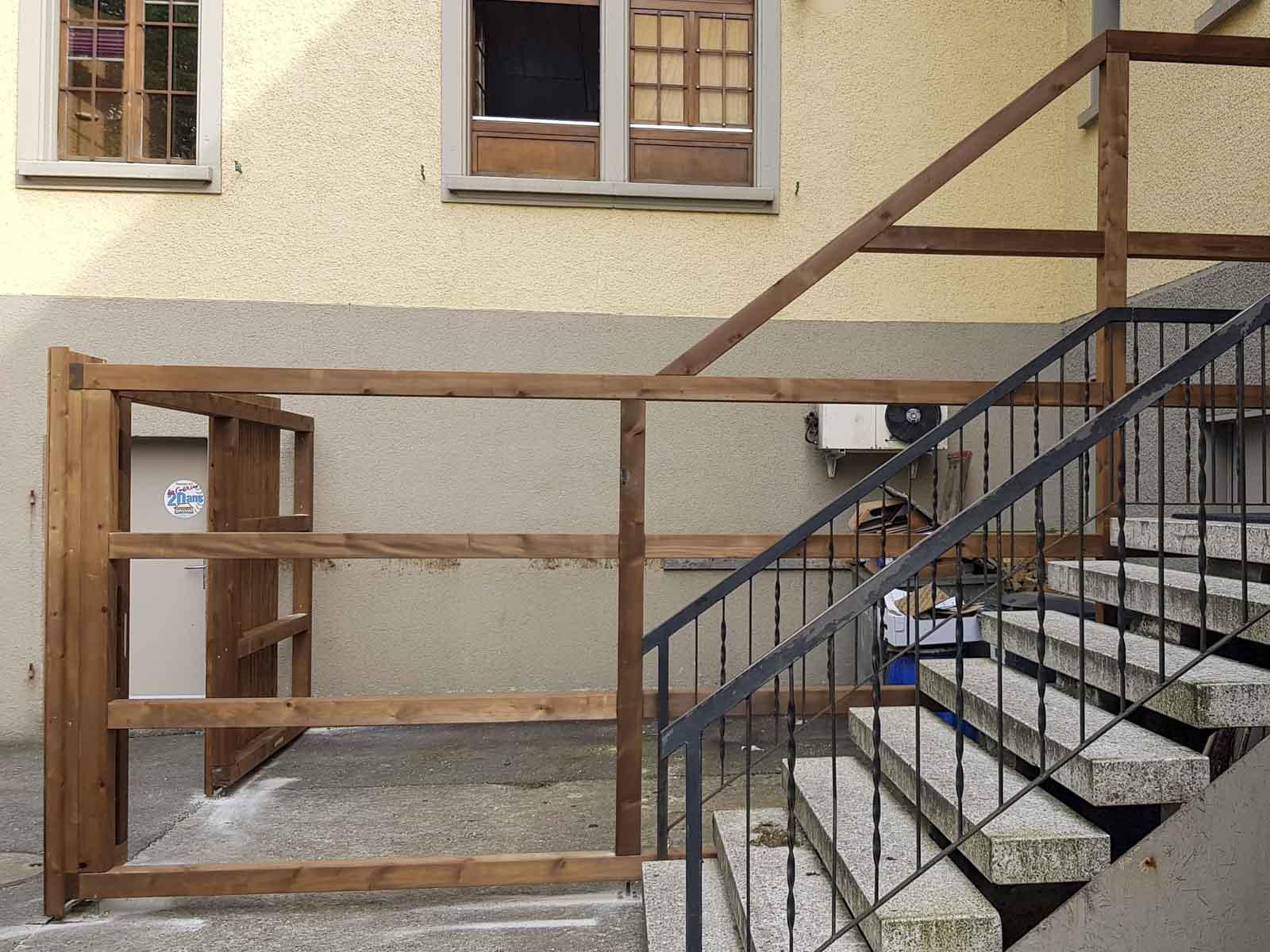 Wooddesign_Terrassengestaltung_Sichtschutz_druckimprägniert braun_Holzverkleidung (4)