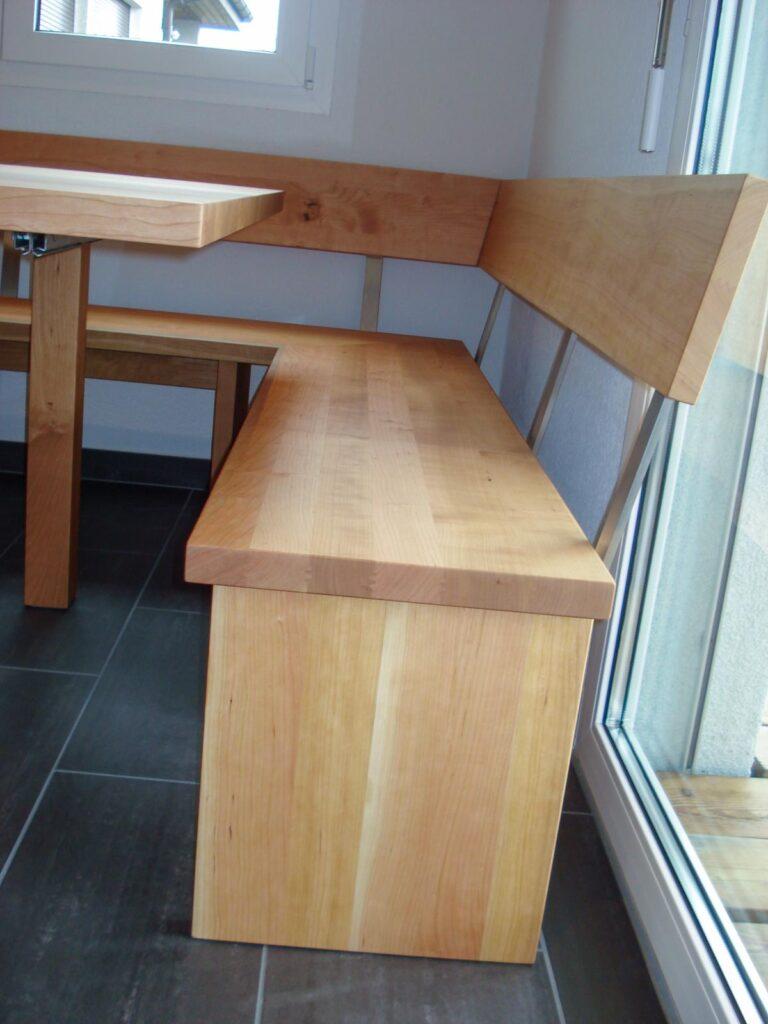 Wooddesign_Tisch_ Eckbank_quatratisch_ Kirschbaum massiv_ modern_(3)