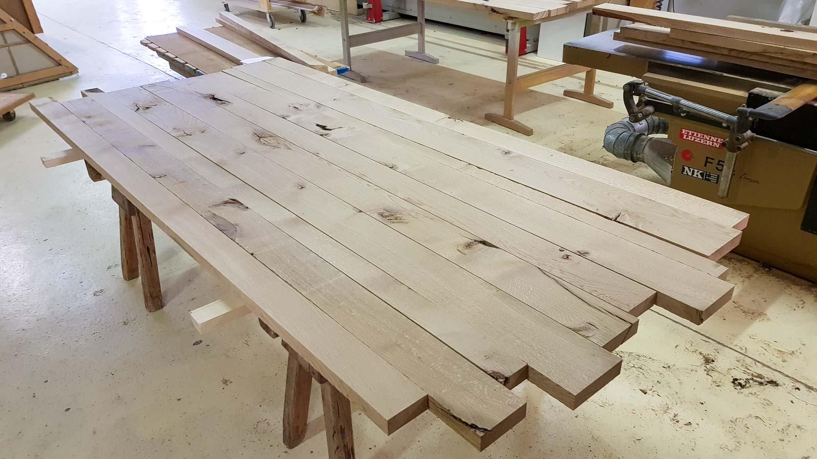 Wooddesign_Tisch_ Herstellung_Schwarzstahl_Tischgestell_Schreinerei Möbelwerkstatt (5)