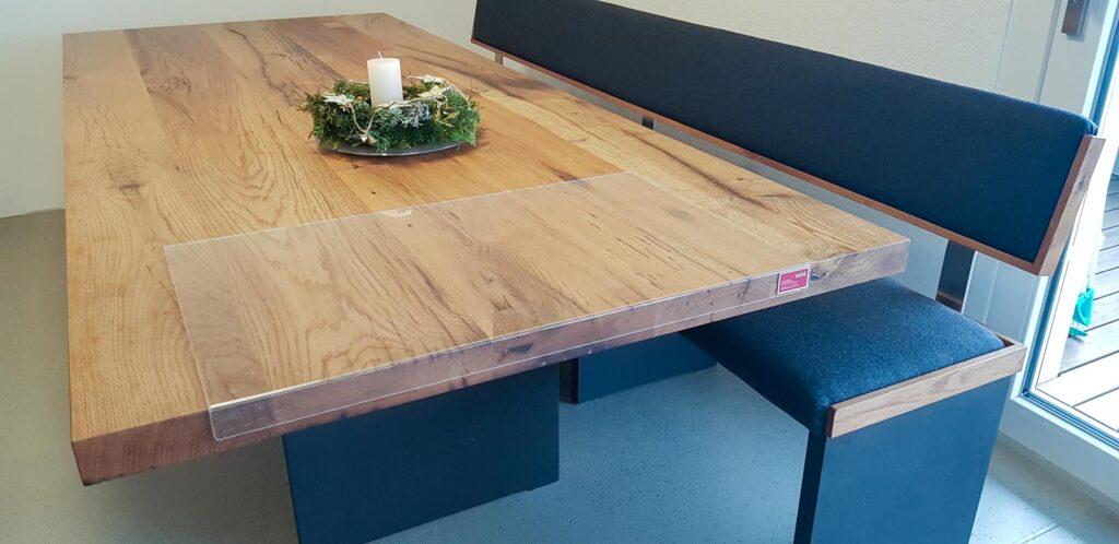 Wooddesign_Tisch_Sitzbank_gepolstert_schwarz_Altholz Eiche1 (3)