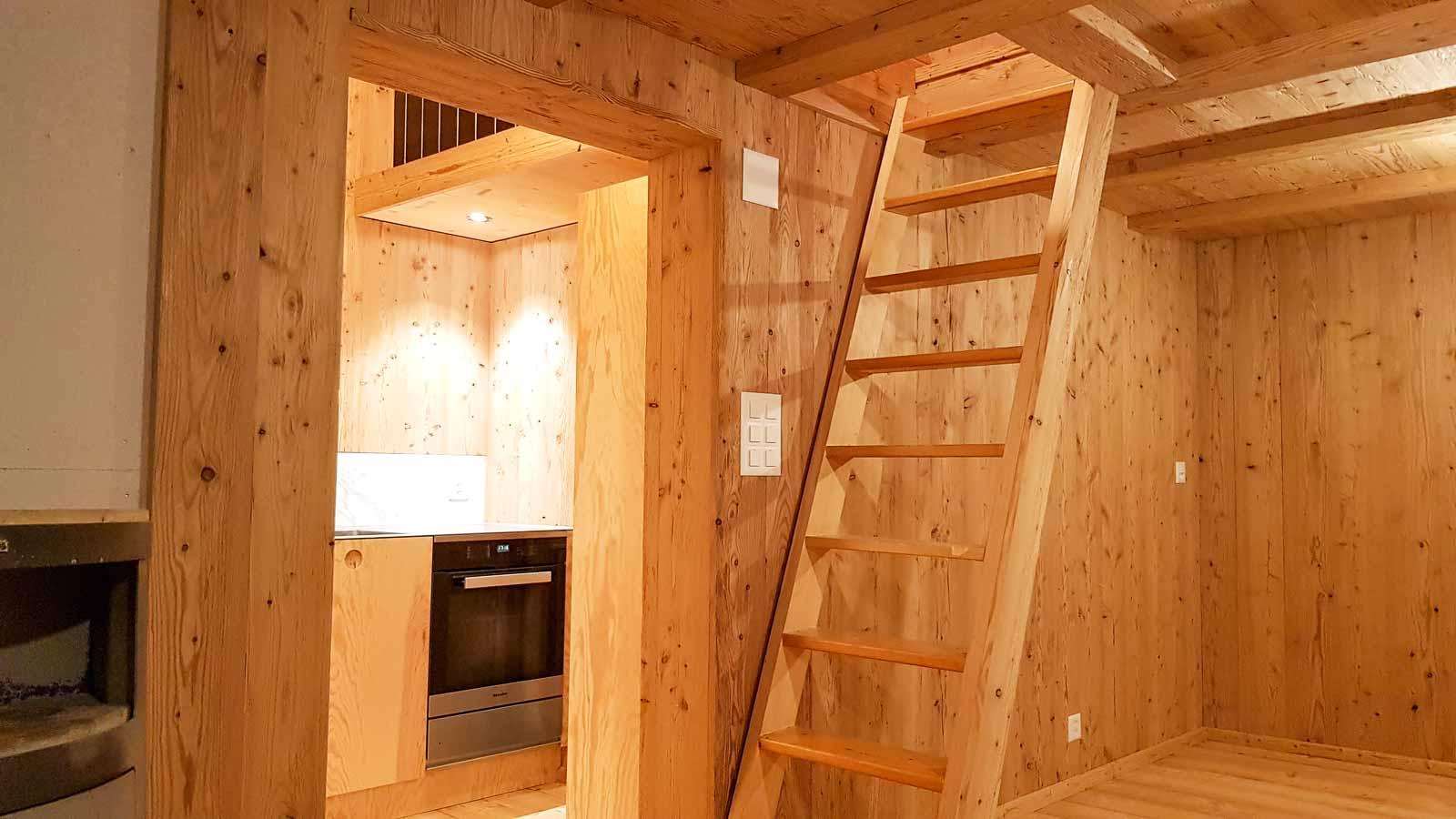 Wooddesign_Holzdesign_Innenausbau Ferienhaus_Altholz_Ferienwohnung_Ferienchalet_Schwarzsee_ Umbau (16)